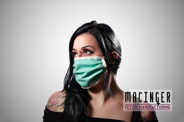 Latex Cyber-Halbmaske - Medical
