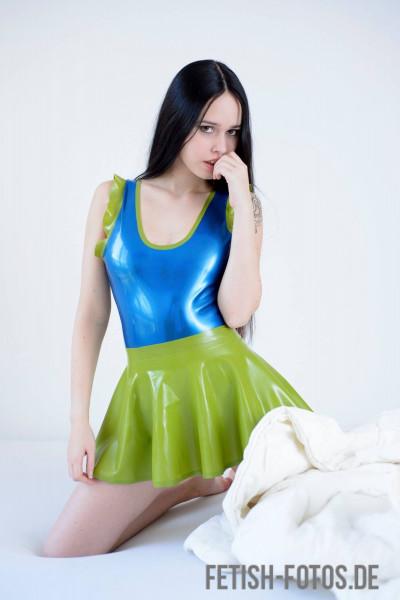 Latex Top 'Mermaid' - MACINGER