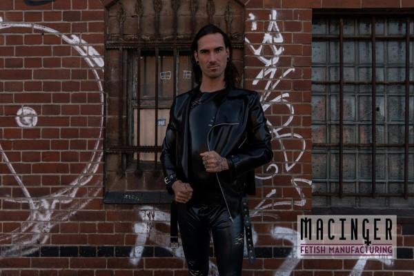 Latex Bikerjacke 'Jason' - MACINGER