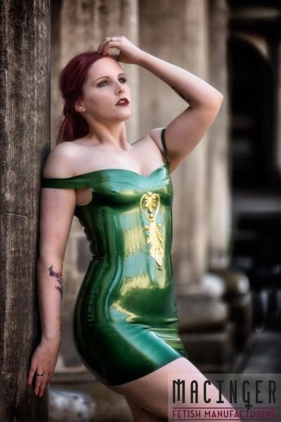 Latex Kleid 'Forasa' - Macinger
