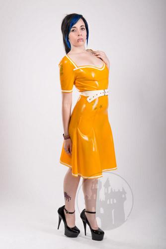 Latex Sommerkleid