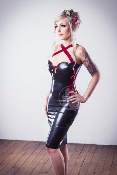 Latexkleid Macinger dancing Shadow