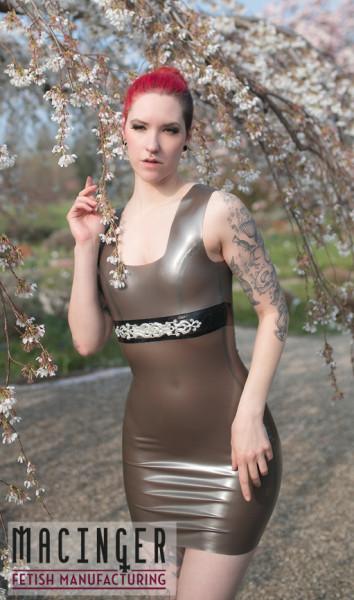 Latex Kleid 'Firala' - Macinger