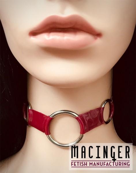 Halsband mit 3 O-Ringen 'Trila' - MACINGER - Vorderansicht