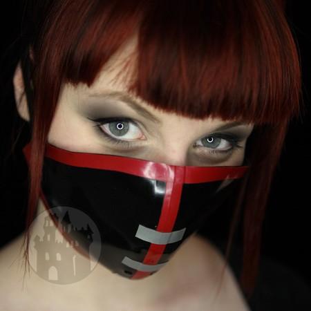 Latex Cyber-Halbmaske Version II - MACINGER