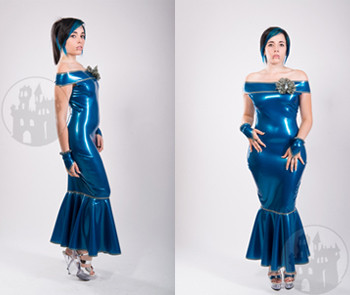 Latex Abendkleid 'Sweet Twilight' - MACINGER