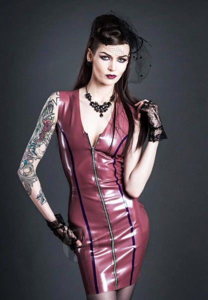 Latex Kleid 'Candy' - Macinger