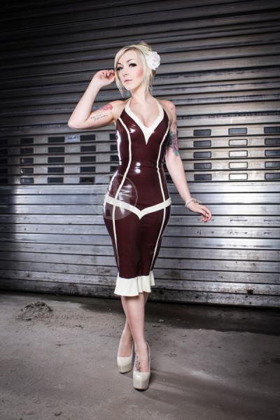 Latex Kleid 'Admira' - Macinger