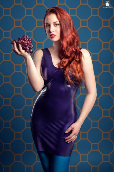 Latex Kleid 'Nightshade' - Macinger