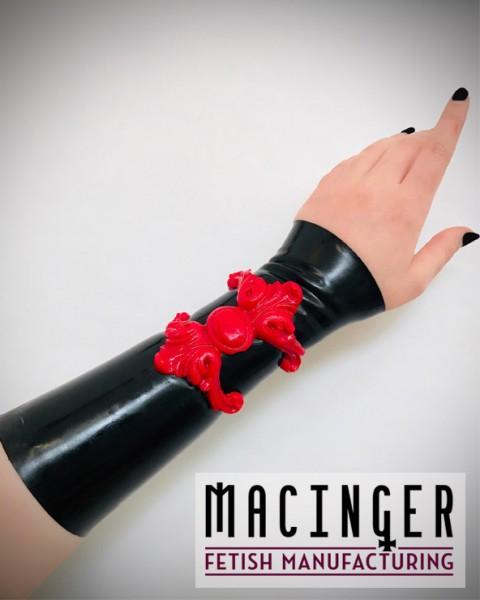 Armband mit Applikation 'Garnet' - MACINGER