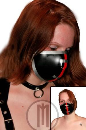 Latex Cyber-Halbmaske Version I - MACINGER