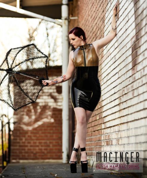 Latexkleid 'Kantas' - Macinger