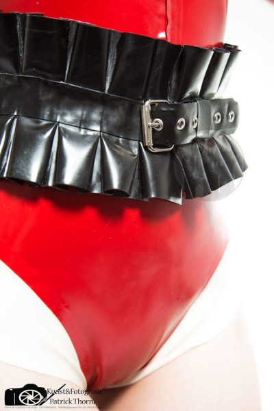 Latex Taillenngürtel 'Tia' - Macinger
