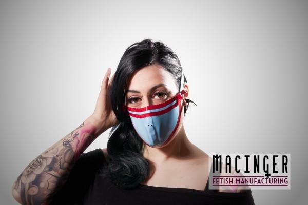 Latex Cyber-Halbmaske - Candy - MACINGER
