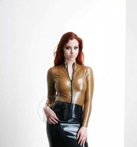 Latex Bluse 'Actress' - Macinger