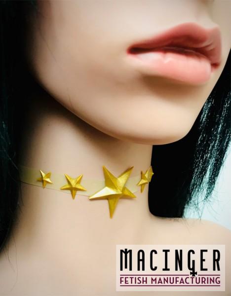 Halsband mit Stern-Applikation 'Stellaria' - MACINGER - Seitenansicht