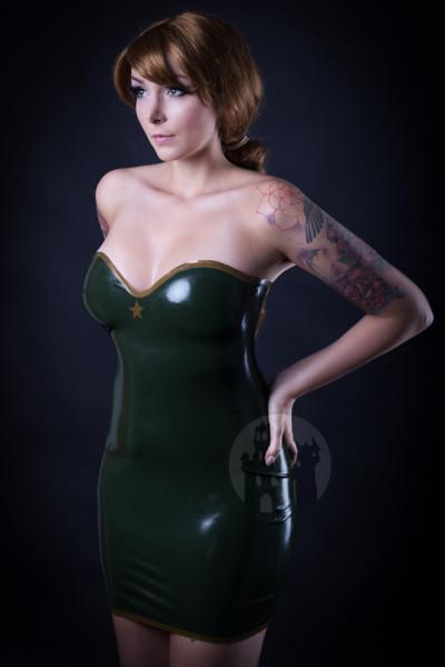 Latex Kleid 'Estrella' - Macinger